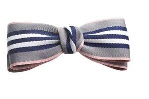Ленты в полоску, 1 ярд (38 мм 25 мм), вручную изготовленная лента, сатиновая лента для рукоделия, декоративное искусство и ремесло, аксессуары для шитья волос