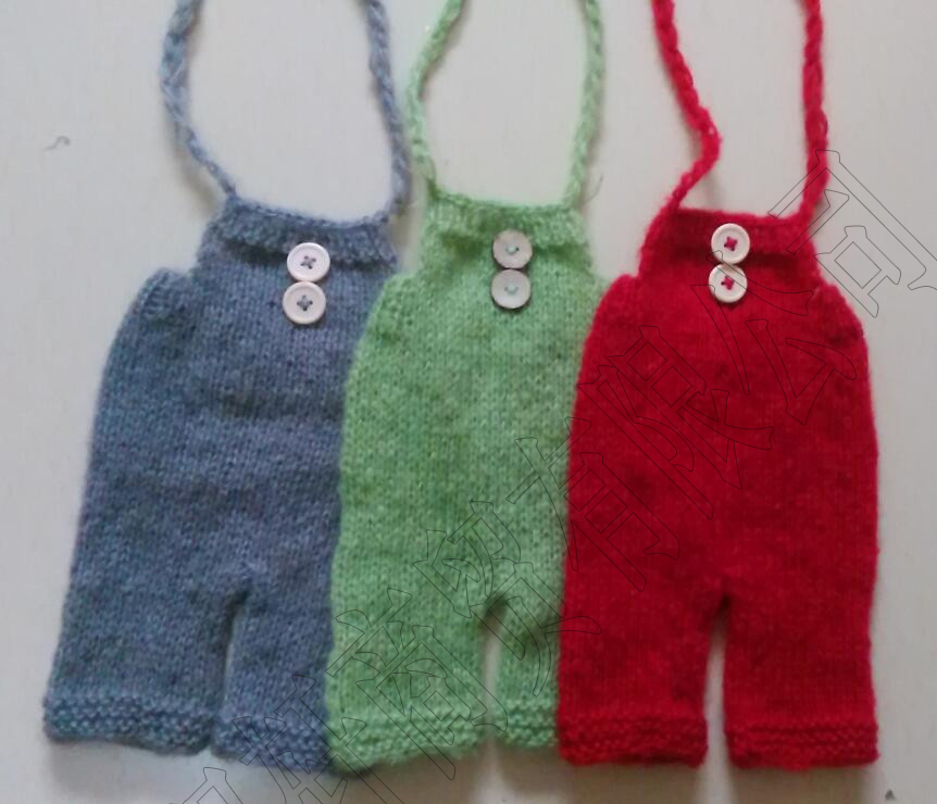 Newborn mohair pants photo prop baby photography props