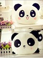 35 cm Gigante Osos Panda Almohada Mini Juguetes de Peluche Animales Muñeca Bolster Regalo del Día de San Valentín 35 cm blanco de Alta hi-q (alta calidad)