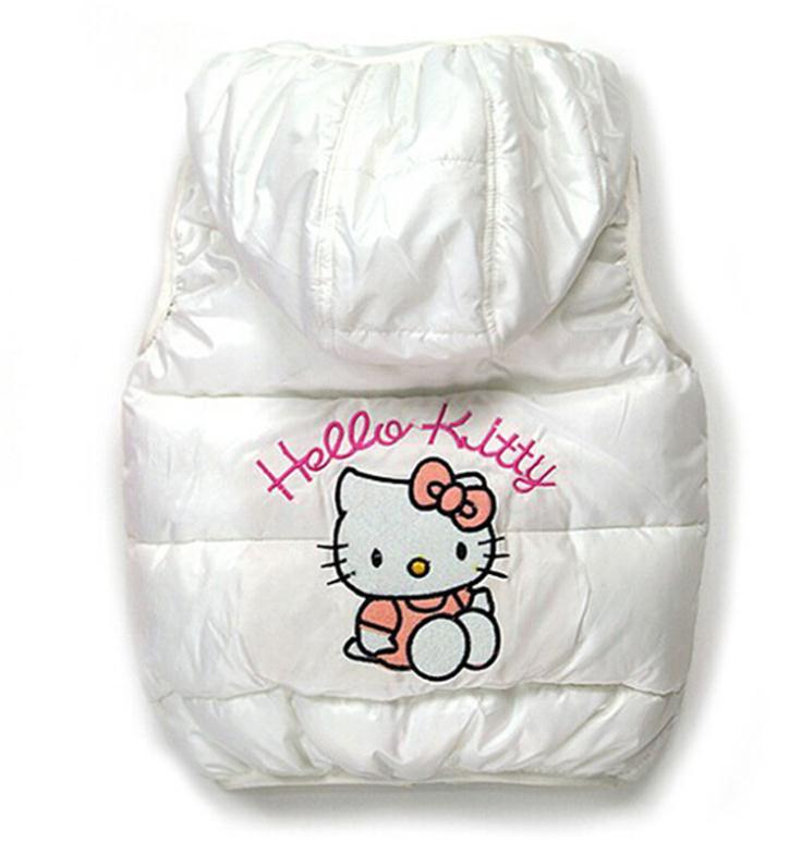 2018 barn vinter Ytterkläder Coats Hello Kitty Girls vestjacka - Barnkläder - Foto 2