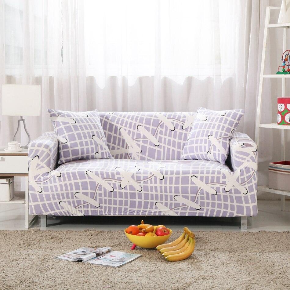 Online Shop Plaid Universal Strertch Furniture Covers Shoelace ...