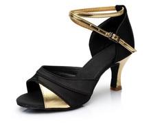 2017 Mulheres New Style Furador Latina Adulto Fundo Macio de Salto alto 5 cm/7 cm Sapatos de Dança