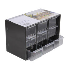 Jewelry Storage Box Mini Debris Cabinets Lattice Portable Amall Drawer Sorting Grid Desktop Office Supplies Color Randomly 1pcs(China)