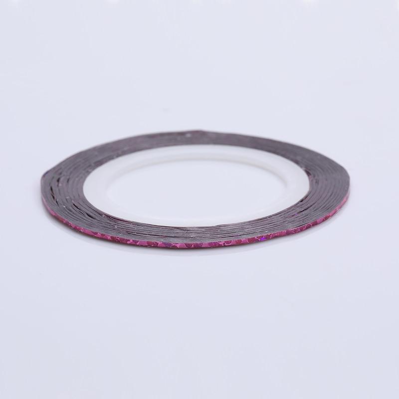 2 мм матовый блеск для ногтей, Чередование ленты линия разноцветные, для ногтей инструмент для укладки волос Стикеры наклейка DIY украшения для ногтей - Цвет: 31