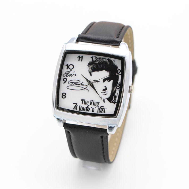 New Arrival Elvis Presley Watch Brand Kids Fashion Casual Sport Watches Leather Quartz Watch Wristwatch Relogio Feminino Clock