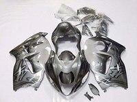 Цвета: золотистый, Серебристый Серый Полный инжекторный комплект для 1999 2007 Suzuki GSXR 1300 Hayabusa 1998 1999 2000 2001 2002 2003 2004 2005 2006