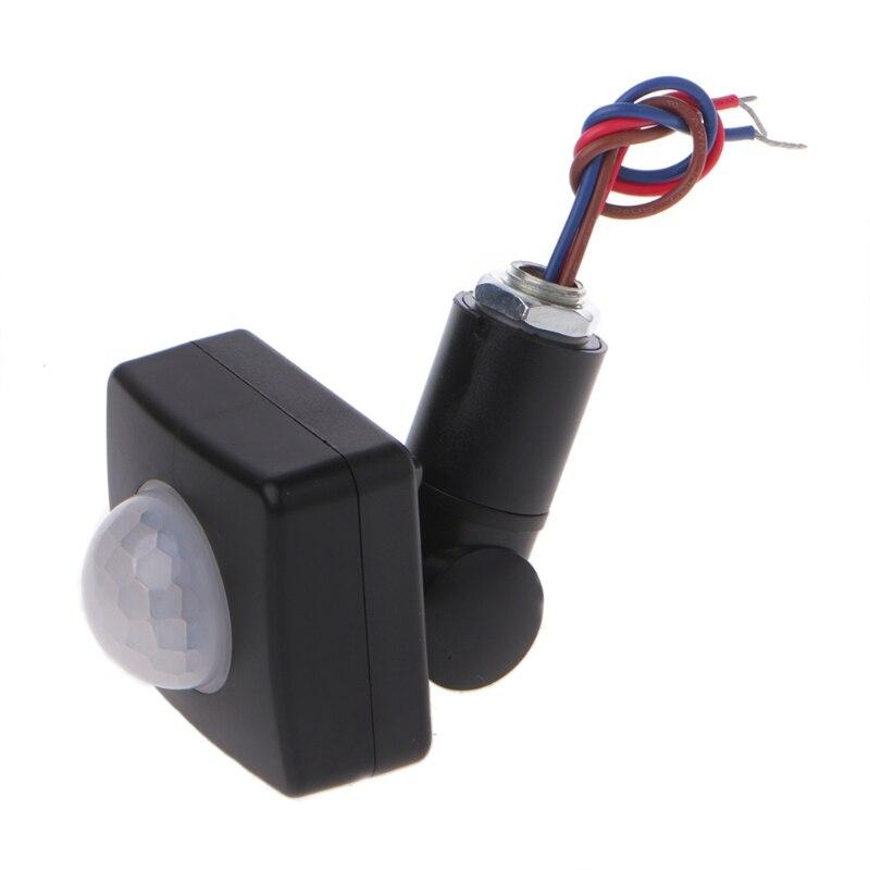 LED 110 degree 100W Infrared PIR Motion Sensor Detector Wall Light Switch 110 240V in Switches from Lights Lighting