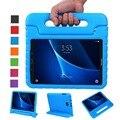Противоударный Легкий Вес Защиты Ручка Стенд Дети Чехол для Samsung Galaxy Tab 10.1 Дюймов SM-T580/SM-T585 Tablet