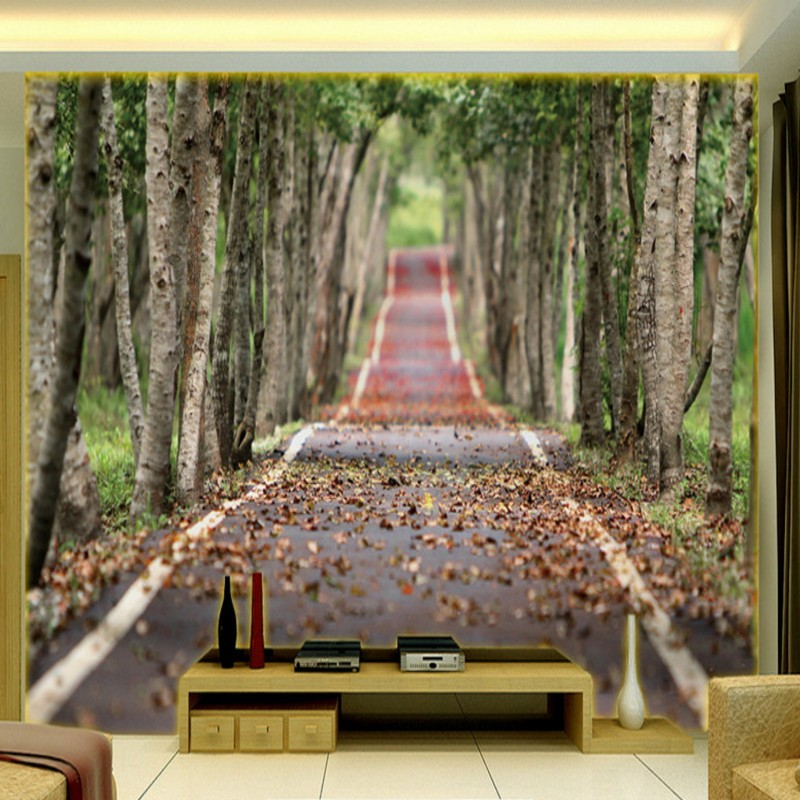 Good Quality And Cheap Forest 3d Hd Wallpaper In Store Xprice