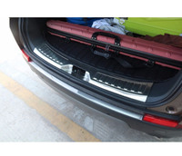 For Land Rover Discovery Sport 2015 2016 Stainless Steel Rear Bumper Guard Plate Trim Car Accessories