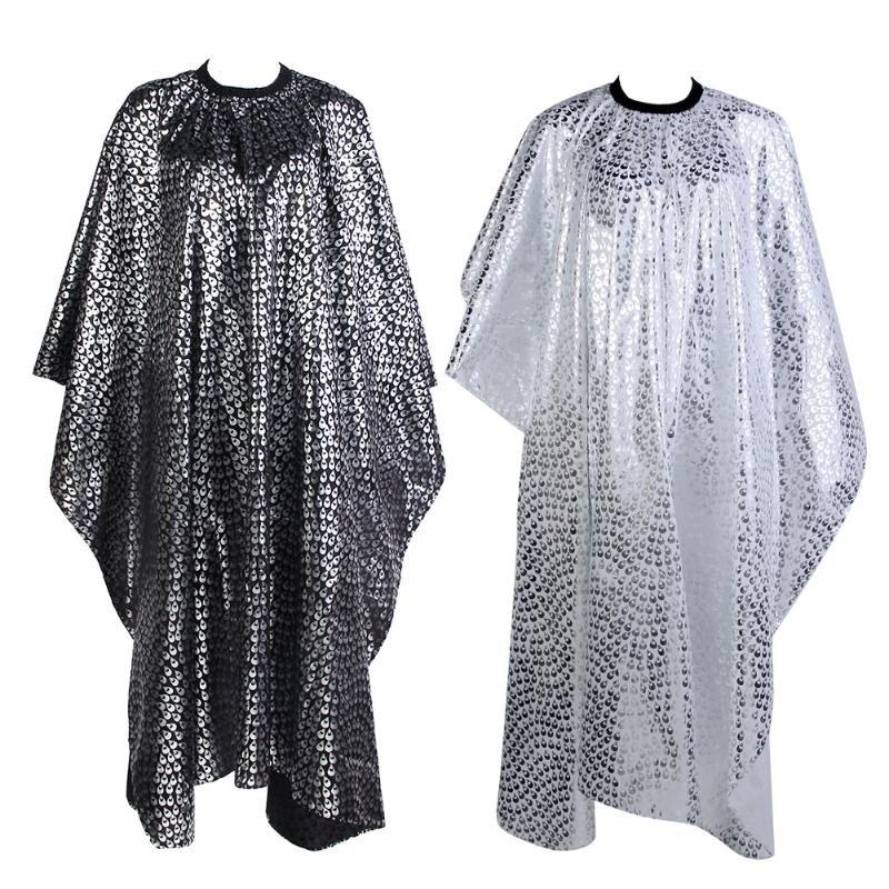 Pro Adult Salon Hair Cut Wrap Cloth Hairdressing Hairdresser Barbers Waterproof Cape Gown Feather Pattern 50pcs lot fdd2572 fdd2582 to 252