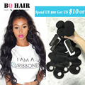 "BQ Hair Store Brazilian Body Wave 3 bundles 7a Brazilian virgin Hair Cheap Human Hair 8""-32"" Natural Color #1b Weave Aliexpress"