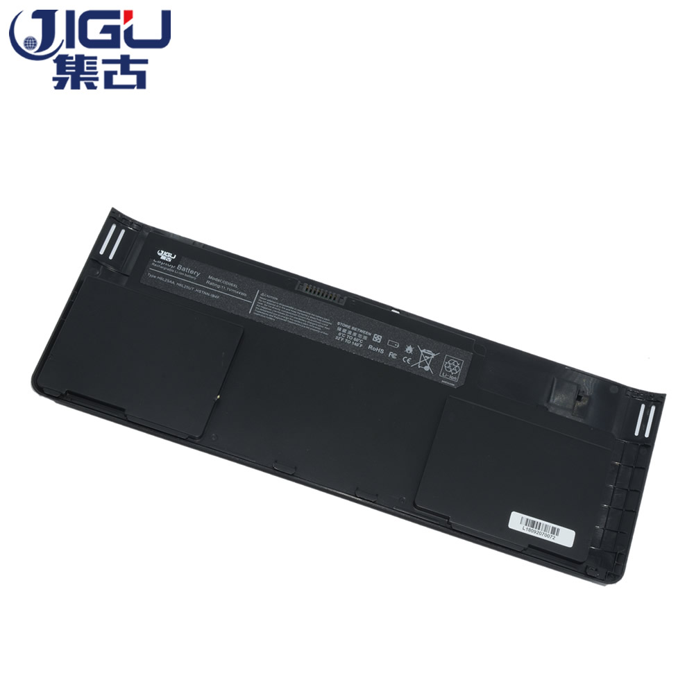 JIGU Laptop Batterie 0D06XL 0DO6XL H6L25AA H6L25UT HSTNN-IB4F W91C OD06XL ODO6XL Für HP EliteBook Revolve 810 G1 Tablet G3 830