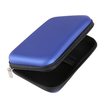 2.5inch hard storage box case for earphone headphone carry storage bags ear buds usb cable organizer SD card Data cable box