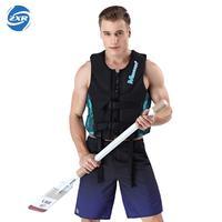 Zuoxiangru Men's Fishing Vest Adult Water Sport Safety Life Vest Foam Flotation Swimming Life Jacket Buoyancy Fishing Vests