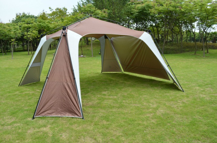 C&ing Screen House Outdoor Tent Sun Shade Large Shelter Beach mesh INSTANT CANOPY-in Sun Shelter from Sports u0026 Entertainment on Aliexpress.com | Alibaba ... & TERRITORY 14 ft. x 14 ft. Camping Screen House Outdoor Tent Sun ...