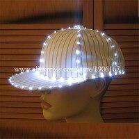 Новая мода свет Бейсболки для женщин световой шляпа для партии Отдых Путешествия Спорт Головные уборы DHL Бесплатная доставка