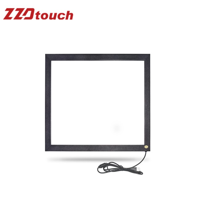 ZZDtouch 19 inch 4 3 infrared touchscreen 2 points ir touch frame touch panel for touch