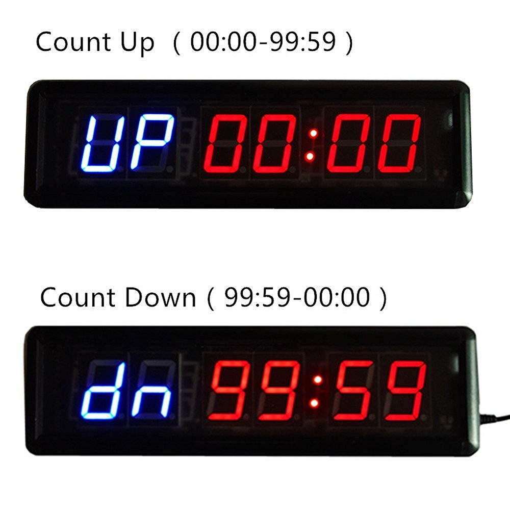 Fitness equipment gym crossfit interval training timer