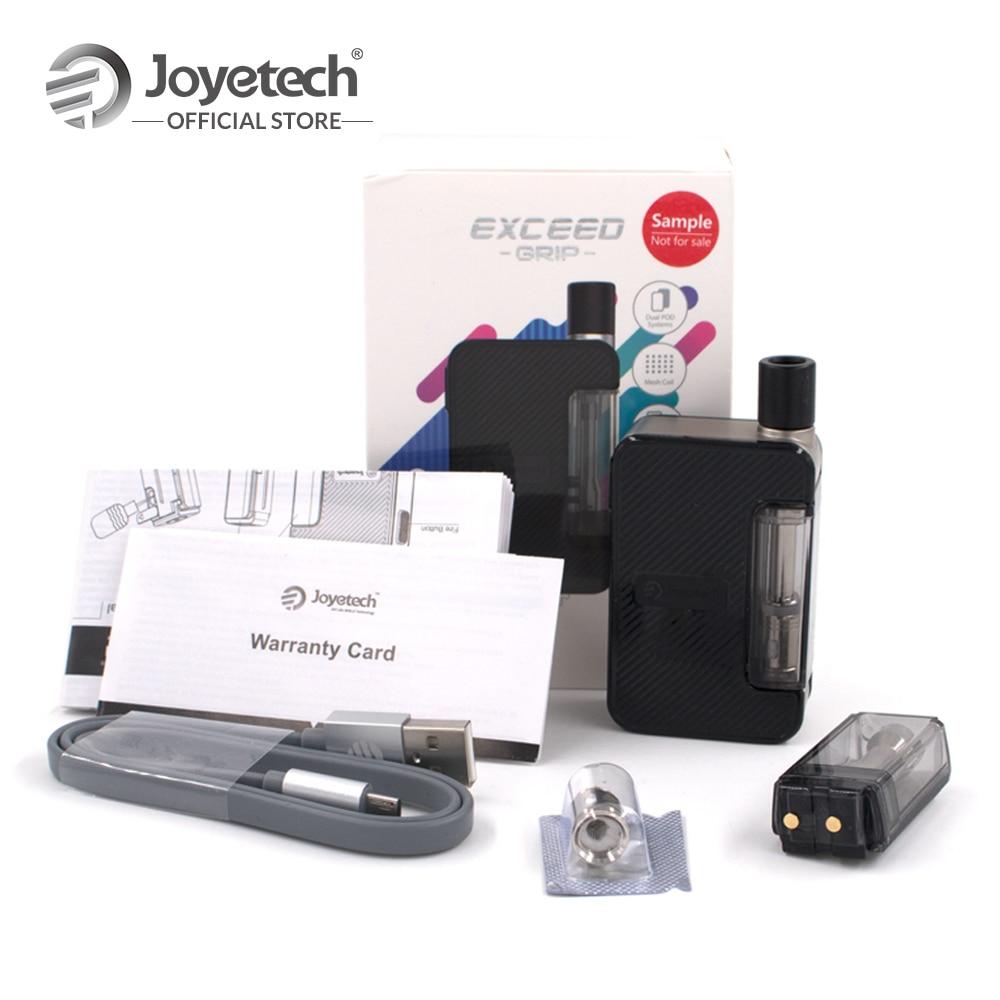 [ES/FR] Original Joyetech Exceder Aderência Pod Kit Sistema Construído em 1000mAh Bateria em EX-M Malha bobina de Zinco Liga e PC E-Cigarro
