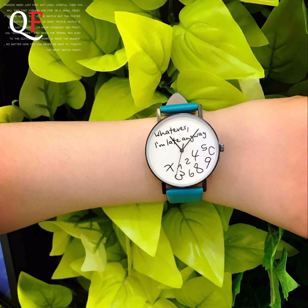online buy whole lucky brand watches for men from lucky qf 2017 fashion simple collocation lucky number design women dress ladies green band clock brand quartz