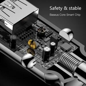 Image 4 - Baseus cargador Mini USB de coche para teléfono móvil y tableta con GPS, cargador rápido 3.1A, adaptador de doble cargador de telefono de coche USB para coche