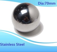 1pcs Diameter 70mm stainless steel ball SUS304 precision Dia 70 mm for bearing ball steel ball