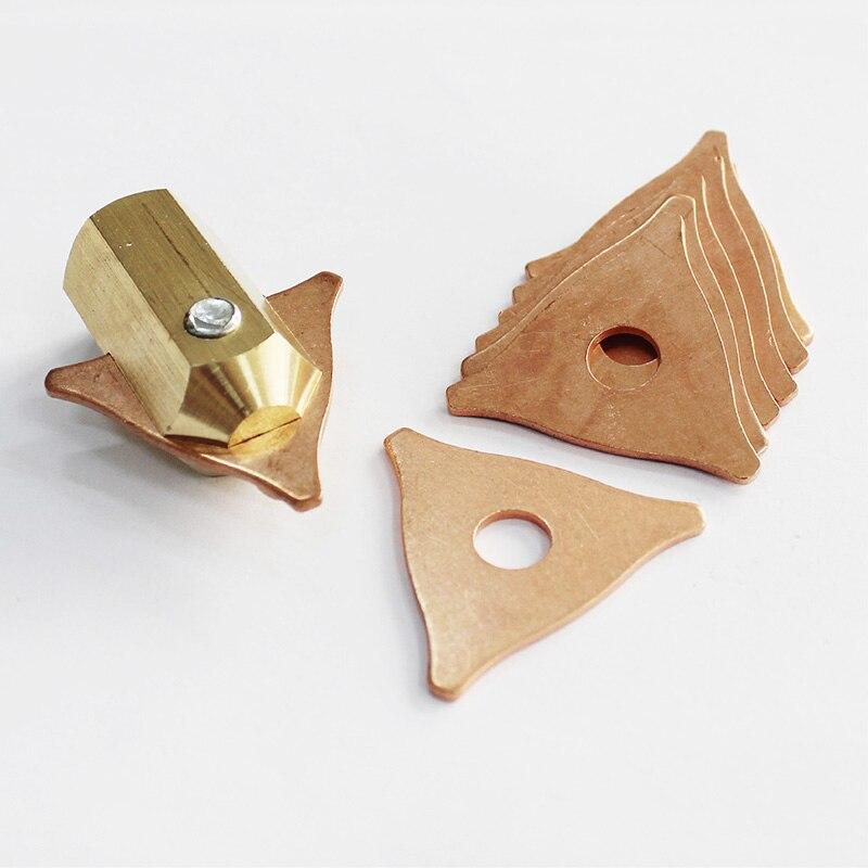auto body repair tools car spotter stud welder tri hook triangles holder dent puller shrinking copper spot welding electrodes