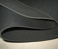 Black SBR neoprene rubber fabrics 2.5MM thickness