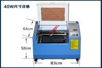k3040 Laser Engraving and Cutting machine