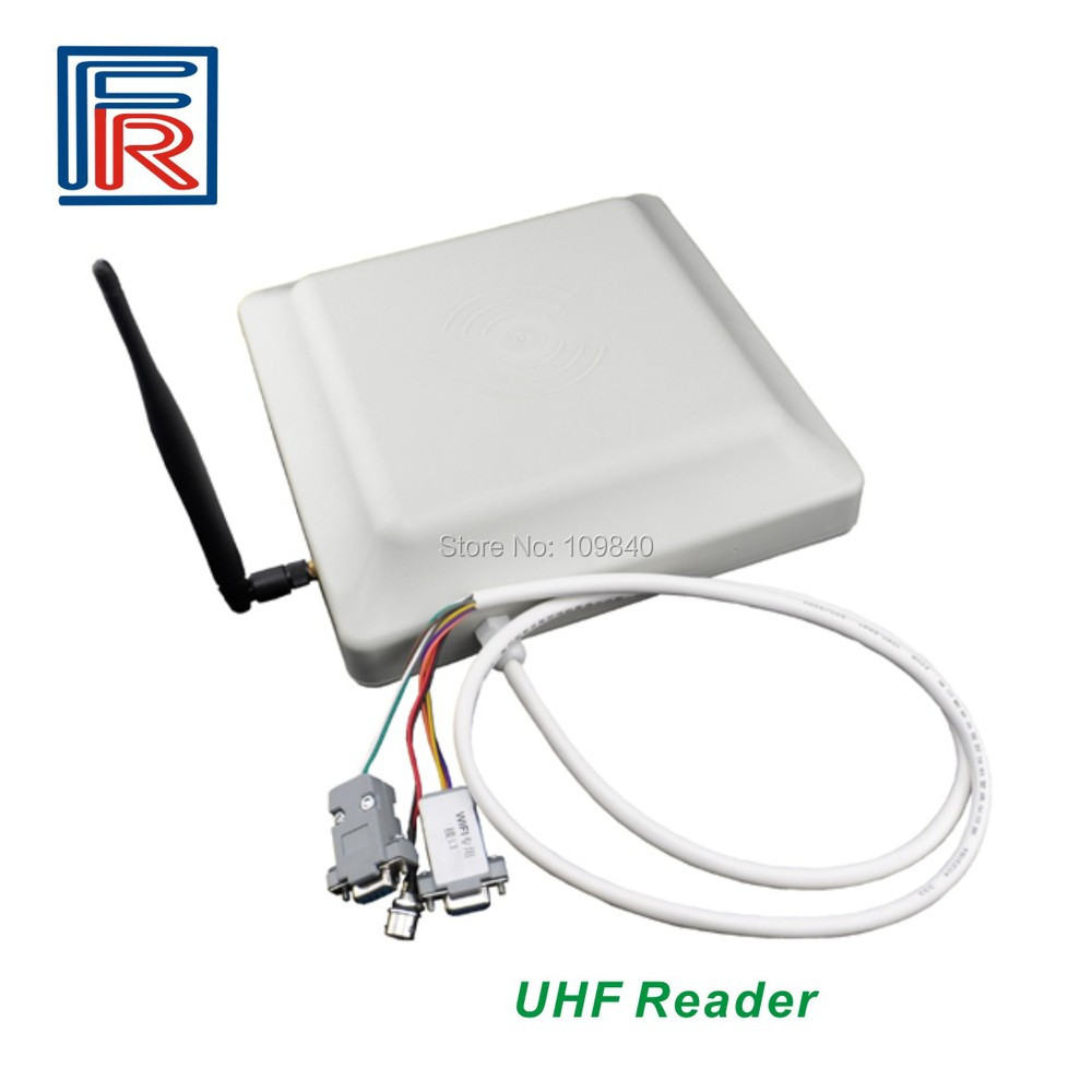 915MHz Gen 2 WIFI Passive UHF Mid-Range RFID Reader and Writer for access control system 860mhz 960mhz usb rfid card reader writer read range up to 0 1m depends on the tag for access control system