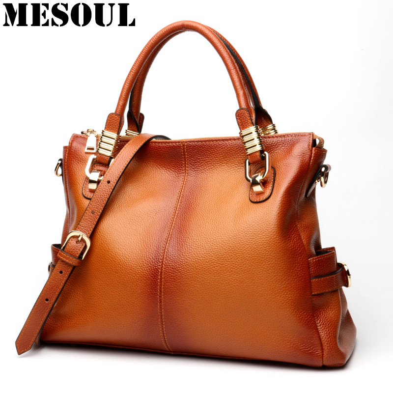 Famous Brand Handbags Women Shoulder Bag High Quality Brown Hand Bag Ladies Genuine Leather Designer Casual Tote Crossbody Bags real genuine leather women s handbags luxury handbags women bags designer famous brands tote bag high quality ladies hand bags