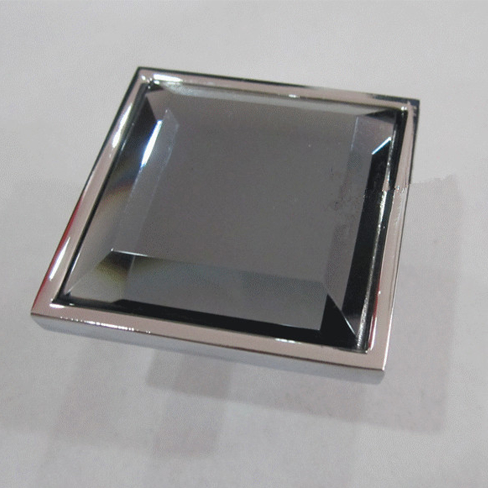 Square furnituret crystal cabinet knobs dressers pulls for Square kitchen cabinet knobs