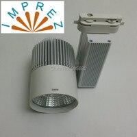 Imprez LED Track Light 30W Dimmable COB 45mil Bridgelux Chip Rail Lights Spotlight Replace 300W Halogen Lamp 110v 120v 220v 240v
