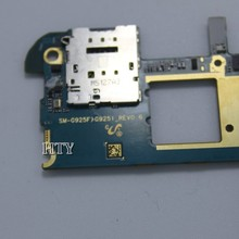 Raofeng разблокирован для Samsung Galaxy S6 edge G925f/g925i материнская плата все функции в разобранном виде платы с чипами логическая плата