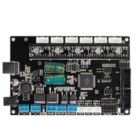 TriGorilla Mainboard Compatible Mega2560 & RAMPS1.4 4 Layers PCB Controller Board for RepRap Mendel I3 Kossel 3d printer CNC