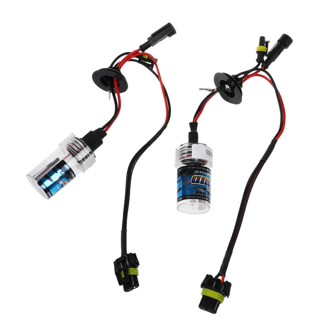 2 Stk 55w Hid Xenon Lamp Car Bulb Light Lamp Kit Headlight