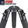 RT80C Профессиональный карбоновый Штатив для ЦЗК камера видеокамера сверхмощная 20 кг Максимальная нагрузка чаша Штатив для наблюдения за пти...