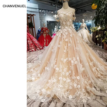 bf688d3866546 Buy floral 3d flower girl gown and get free shipping on AliExpress.com