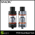 100% original smok tanque tfv8 tfv8 bestia nube atomizador 6 ml h-priv smok mod vaporizador mejor partido con t8-v8 t8-q4 bobina cabeza
