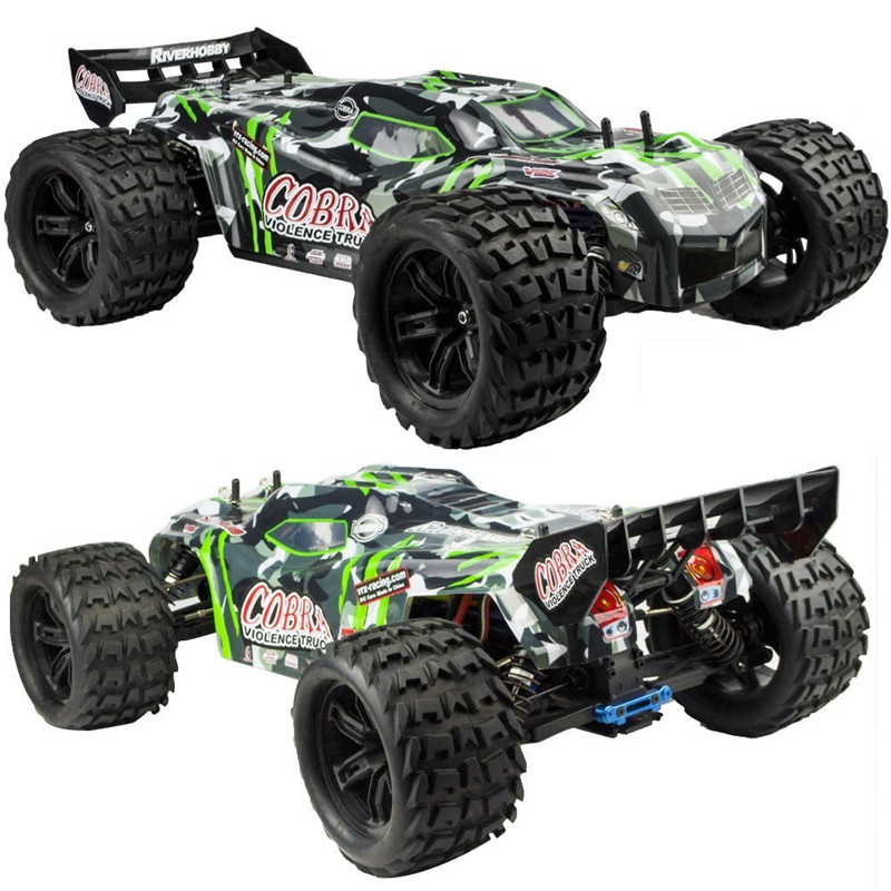 VRX Racing RH817 EBD 485mm 1/8 2.4G 4WD Brushless Rc Car Off-road Monster Truck RTR Toy цена