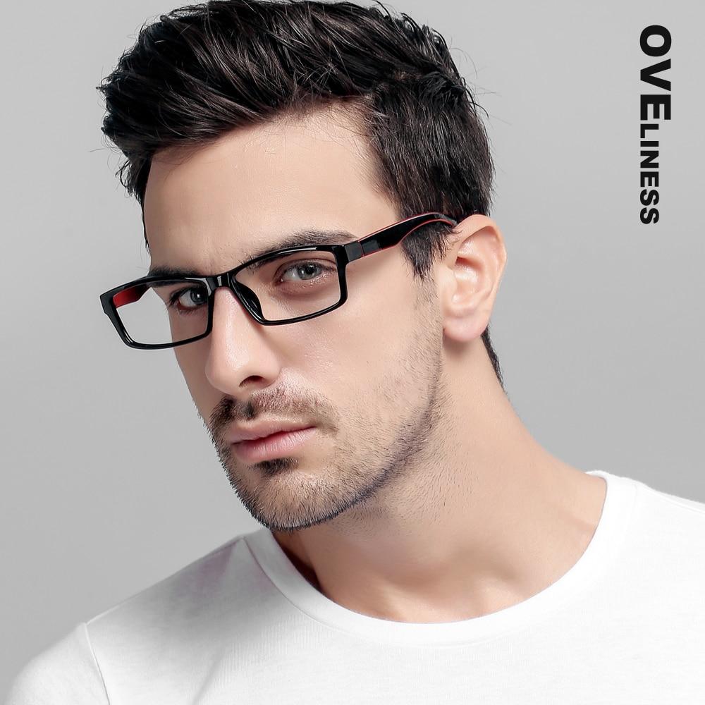 TR90 Eynək çərçivələri Qadın kişilər Optik Clear Lens Oxuyan - Geyim aksesuarları - Fotoqrafiya 1