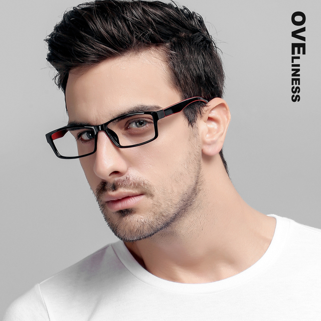 a90bdc59add TR90 Eyeglasses Frames Women men Optical Clear Lens Reading Glasses Frame  Ultra Light Frames eye glasses prescription eyewear