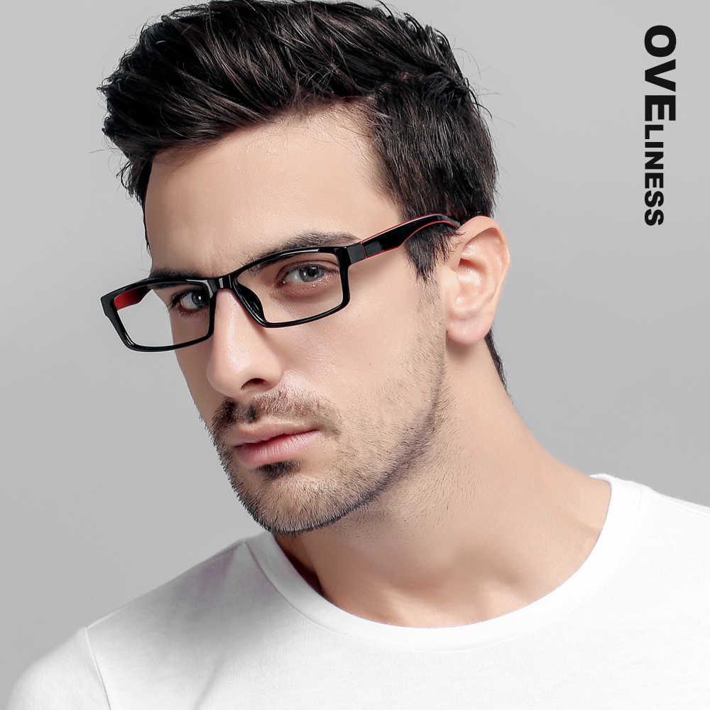 2524e1d68e4 TR90 Eyeglasses Frames Women men Optical Clear Lens Reading Glasses Frame  Ultra Light Frames eye glasses