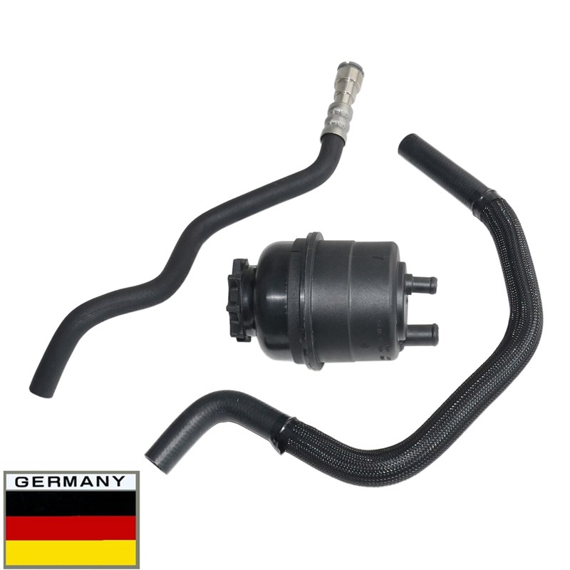 AP03 For BMW <font><b>E46</b></font> 323Ci 323i <font><b>325Ci</b></font> 325i 328Ci 328i 330Ci 330i 323 325 328 330 Power Steering Kit ( Hose & Fluid Reservoir Tank ) image