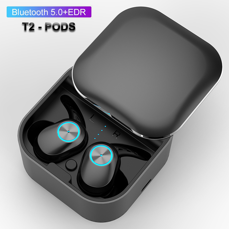 TWS Wireless Earphones Bluetooth 5.0 Headphones Sport touch Earbuds HD Stereo Bass Handsfree gaming Headset with charging box wavefun xpods 3