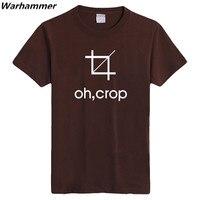 Geek S Funny Team Wear Boys Girls Summer Tshirts OH CROP GEEK Programmer S Print T