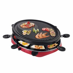 220V Multifuntional 2 Layers Electric Barbecue Grill Smokeless BBQ Electric Pan Grill Griddle EU/AU/UK/US With Little 8 Plates