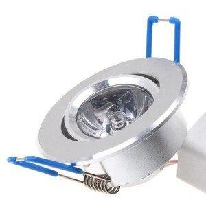 Image 3 - 10pcs LED אור נורות מנורת 3W RGB 16 צבעים ספוט אור AC85 265V + IR שלט רחוק RGB LED תקרת Downlight