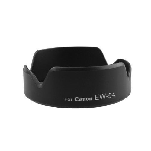 EW-54 Camera Lens Hood for DSRL EOS M EF-M 18-55mm F3.5-5.6 IS STM (Black)